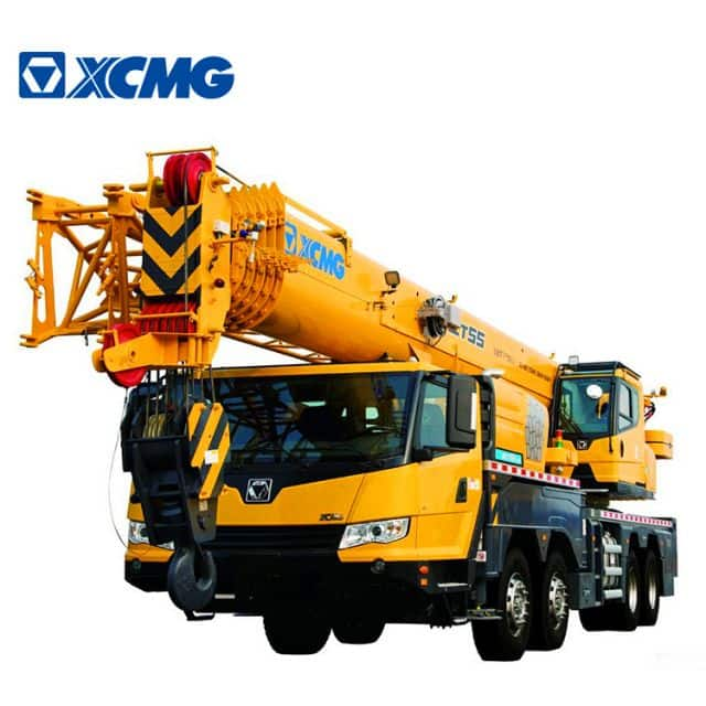 XCMG Official 55 Ton New Mobile Crane XCT55L6 China RC Mobile Truck Crane for Sale