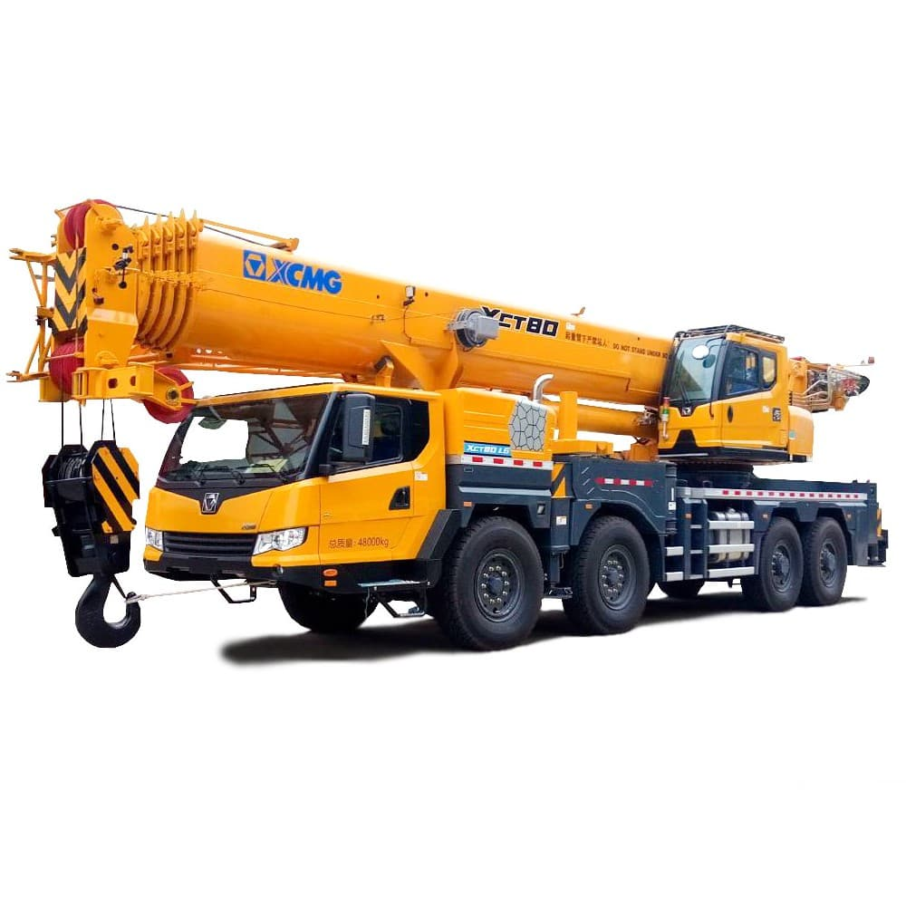 XCMG Official  XCT80L6 Truck Crane for sale