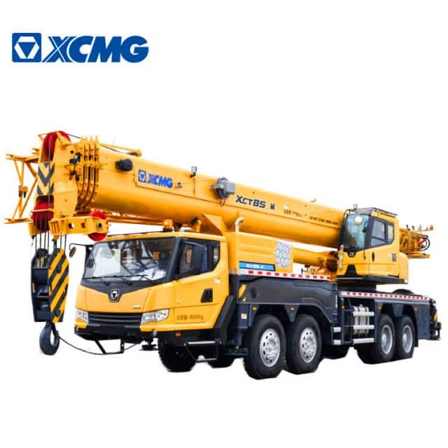 XCMG Official 85 Ton Telescopic Boom Truck Crane XCT85_M China New Crane Truck for Sale