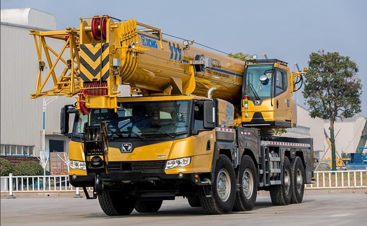 XCMG Truck Crane XCT90 China 90t Mobile Hydraulic Crane Truck Price