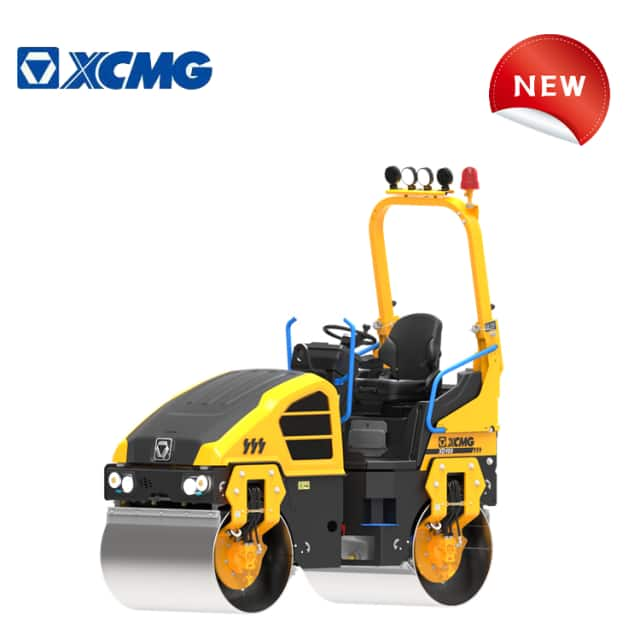 XCMG official manufacturer mini vibratory roller road roller XD100 for sale