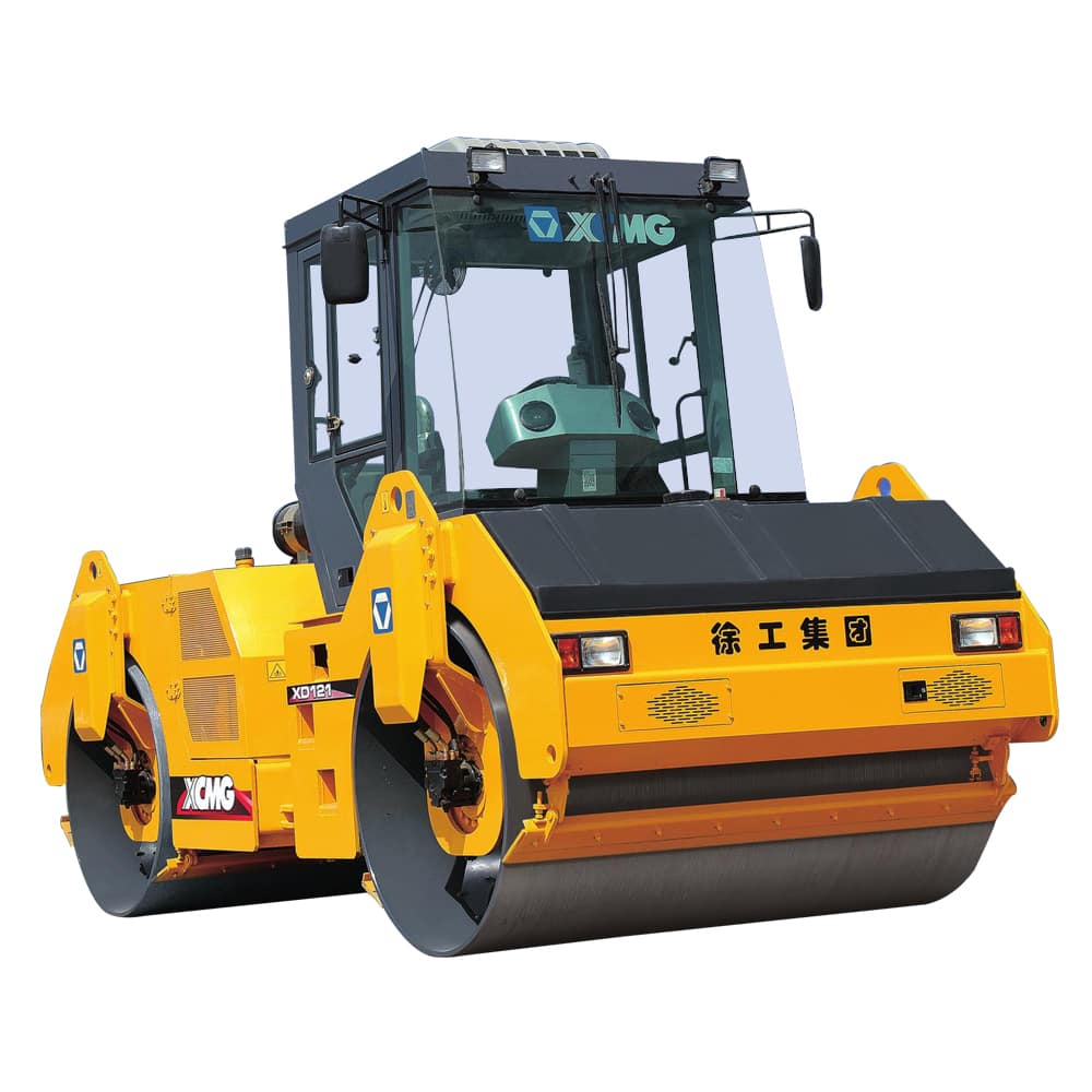 XCMG Official used road roller XD121 for sale
