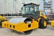 XCMG 12 ton double drum road roller machine XD123