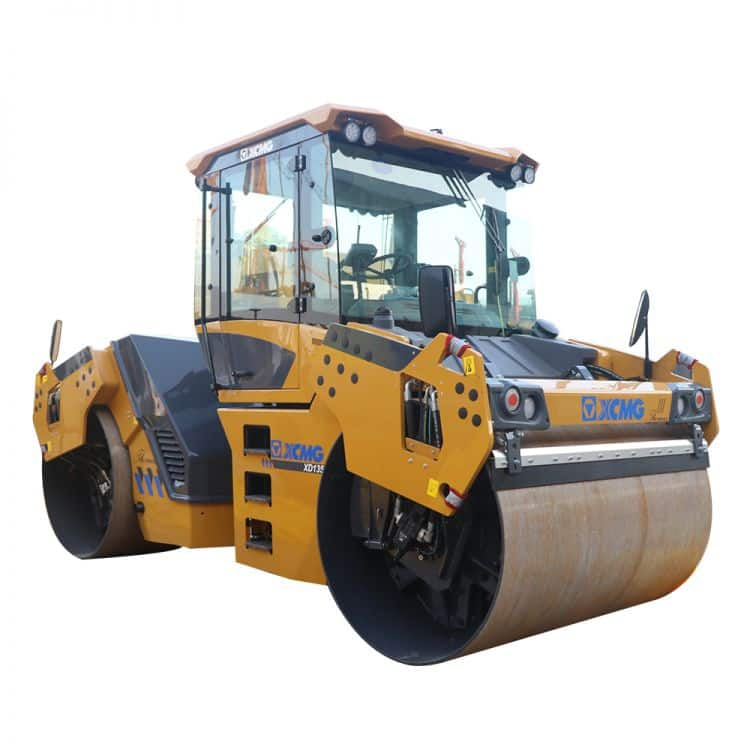 XCMG Official Manufacturer VIBRATORY ROLLER XD135S