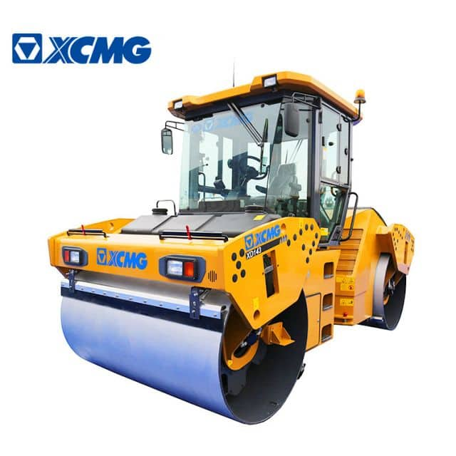 XCMG Official 14 ton double drum vibratory road roller XD143 double drum asphalt rollers for sale
