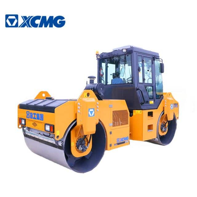 XCMG official road roller compactor XD83 China double drum road rollers compactor for sale