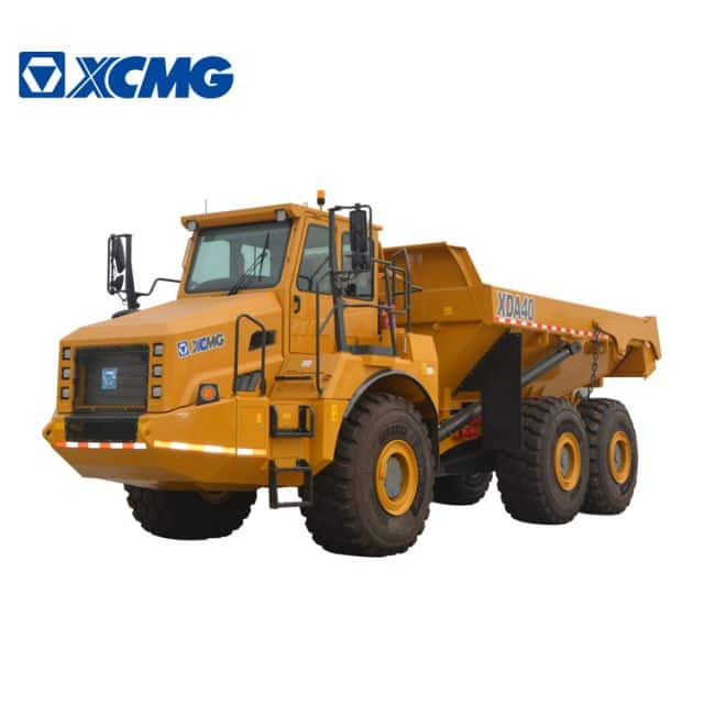 XCMG Official 40ton Minging Dump Truck XDA40 Articulated Dump Truck Price For Sale