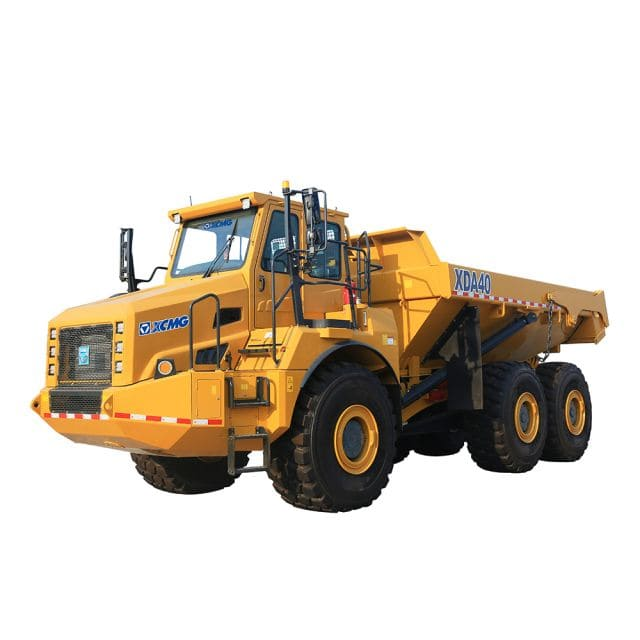 XCMG Official Articulated Dump Truck XDA40 for sale