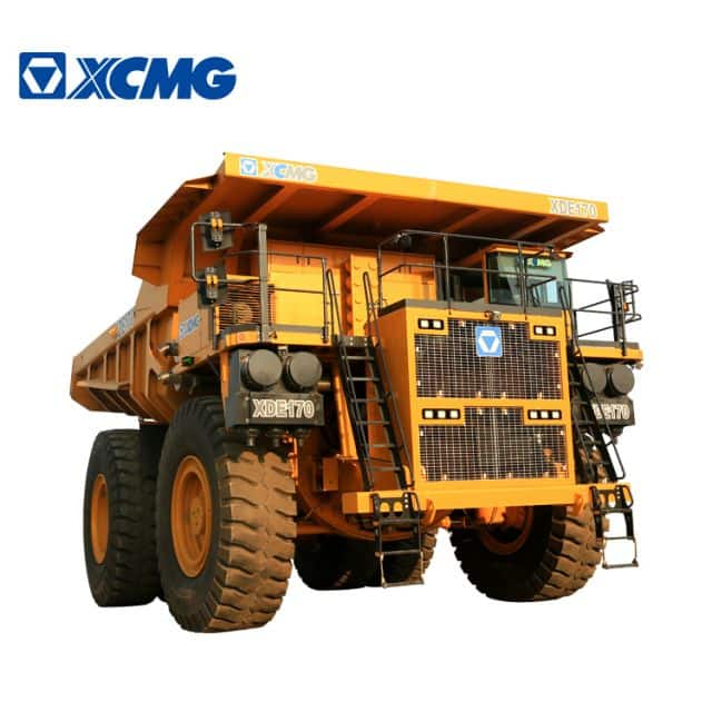 XCMG Official New Mining Dump Truck XDE170 Mine Truck Rated Load 170 Tons For Sale