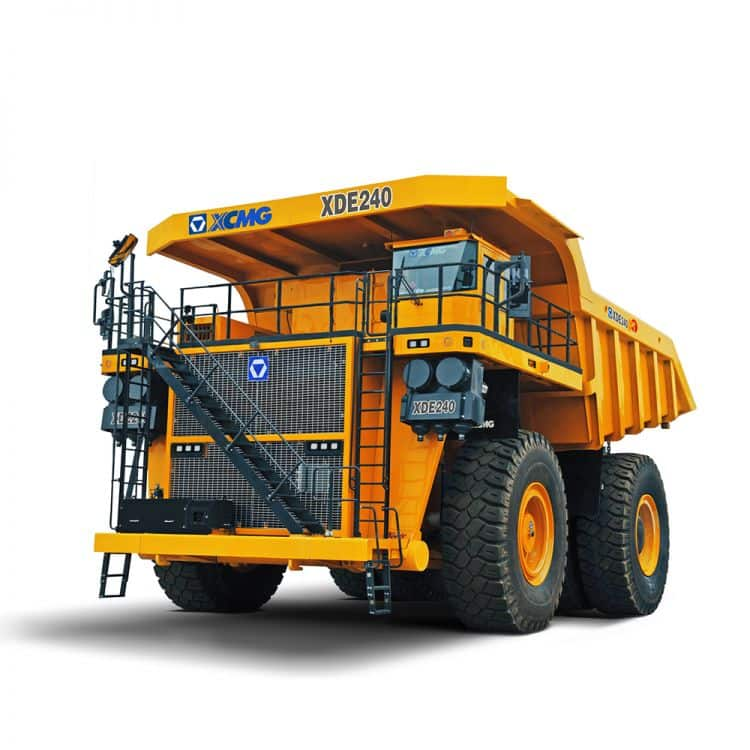 XCMG Official Electric Driver Dump Truck  XDE240 for sale