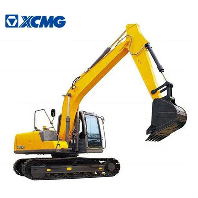 XCMG official 13 ton crawler excavator XE135B excavator construction machinery price