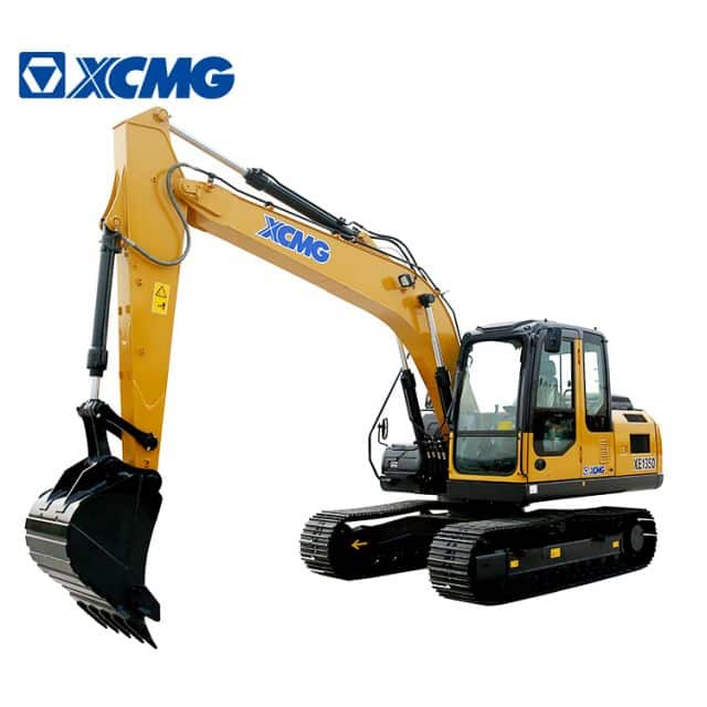 XCMG official 13.5ton mini hydraulic crawler excavator XE135D excavator equipment price