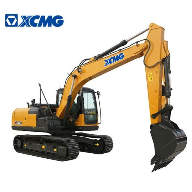 XCMG Officical Manufacturer 13 Ton Crawler Excavator XE135D Chinese New Hydraulic Excavators Price