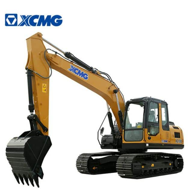 XCMG 15 Ton Excavator Crawler Excavators XE150E Meets North America EPA Tier 4F Emissions For Sale