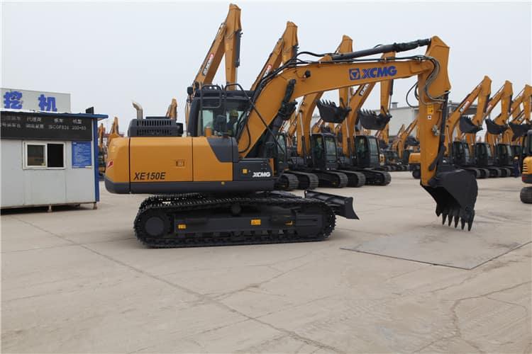 15 Ton XCMG Manufacturer Crawler Excavator XE150E price