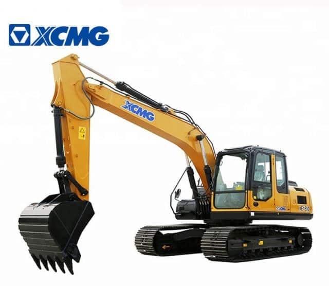 XCMG 15 Ton Small Excavator Crawler Chinese Rock Breaker Excavator XE150U With Accessory Price