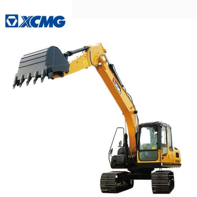 XCMG 15 ton excavators China small hydraulic crawler excavator with Cummins engine XE155DK for sale