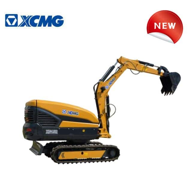 XCMG official 1.5 ton smallest mini crawler rc excavator XE15R with factory price