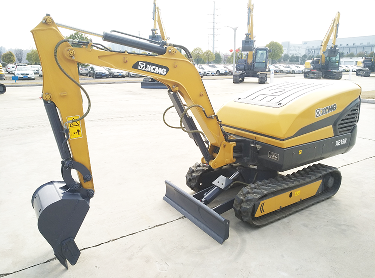 XCMG new 1.5 ton mini remote control excavator machine XE15R made in China