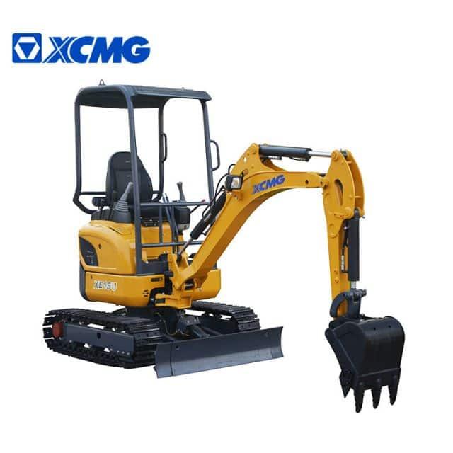 XCMG Mini Excavators 1.5 Ton Crawler Excavator Machine XE15U For Sale