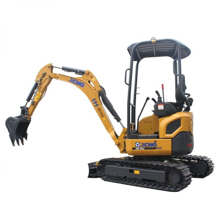 XCMG Official XE15U Crawler Excavator for sale