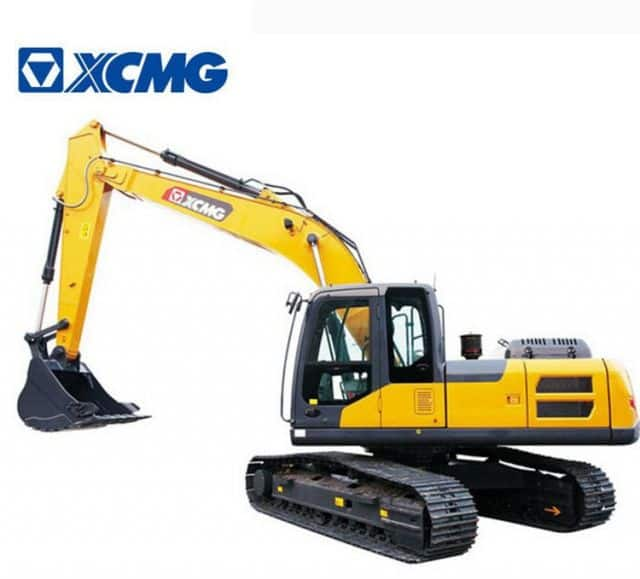 XCMG Construction Equipment 20 Ton Hydraulic Excavators XE205DA With Excavator Attachment Price List