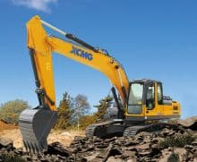XCMG Construction XE205DA 20 ton hydraulic crawler excavator price