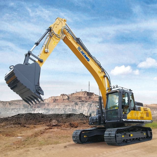 XCMG Official 21ton Hydraulic Excavator XE210E (Euro Stage IV) for sale