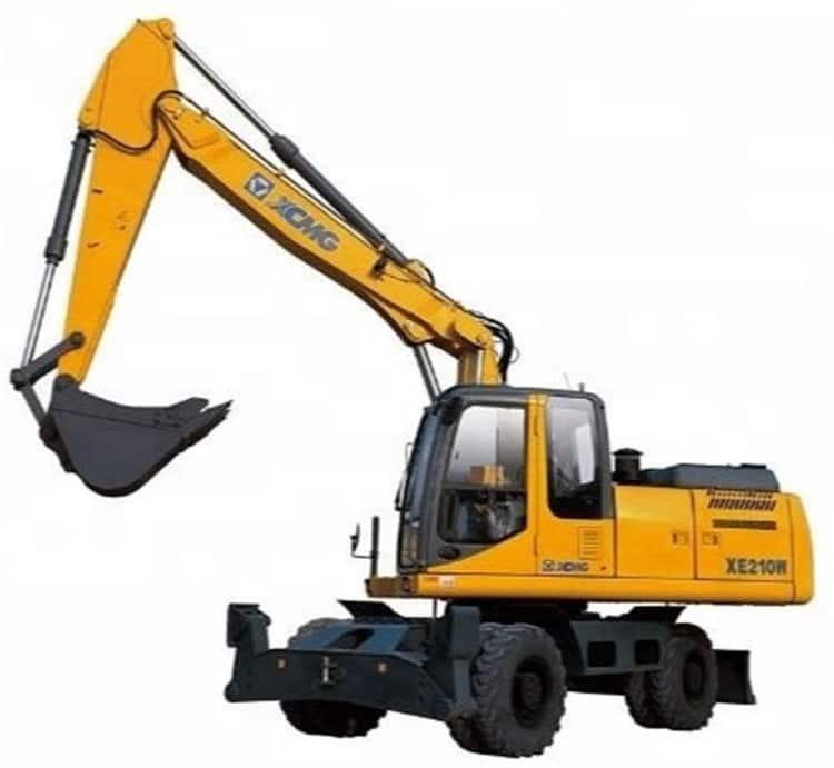 XCMG Brand New Wheel Excavator 21 Ton Construction Equipments XE210WA Price