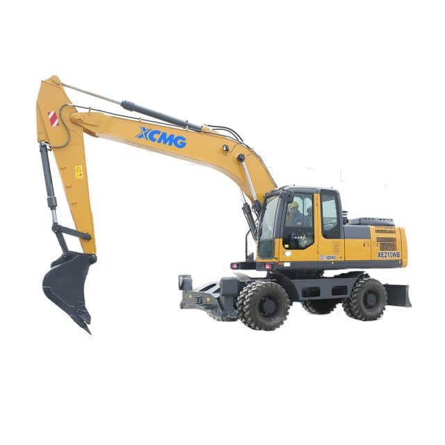 XCMG official manufacturer XE210WB Wheel Excavator for sale