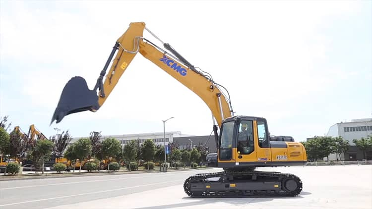 XCMG Official 20 ton crawler bucket tooth excavator XE215C for sale