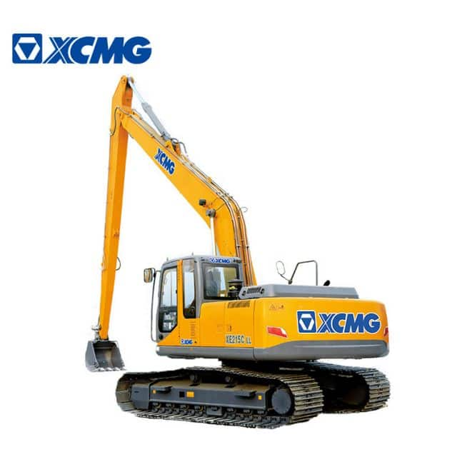 XCMG 20 ton long arm crawler excavator XE215CLL long reach hydraulic excavator for sale