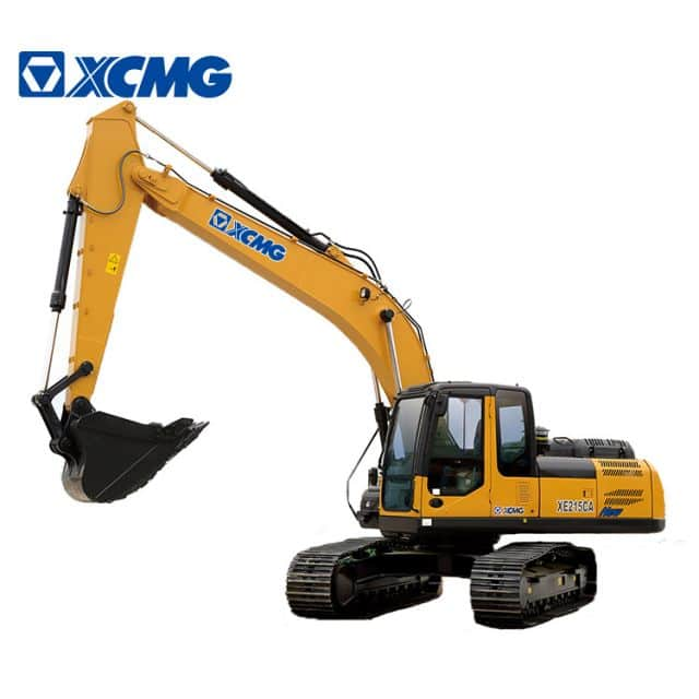 XCMG Official 21ton crawler excavator XE215C hydraulic multifunction crawler excavator machine price