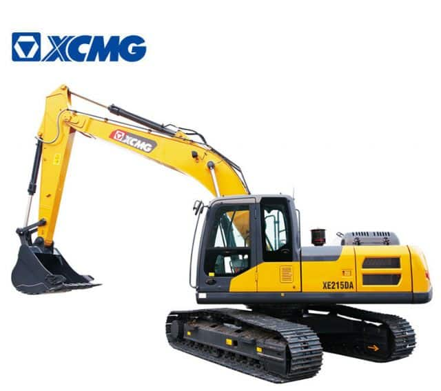 China Top Brand XCMG 20 ton Crawler Excavator Machine XE215DA New Hydraulic Excavators for sale