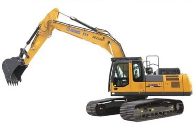 XCMG 25 Ton Cheap Excavators China Crawler Excavator XE250U With Hydraulic Hammer For Sale