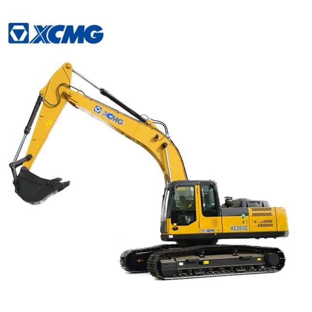 XCMG official 26.5ton hydraulic crawler excavator XE265C china crawler excavator equipment price