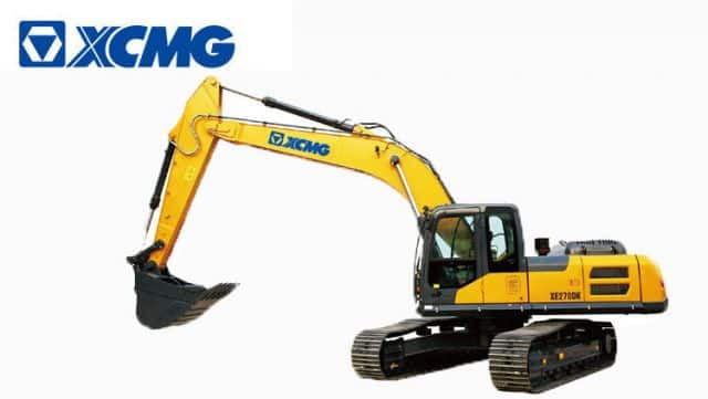 XCMG Construction Equipment 27 ton China Top Brand New Excavators with Spare Parts XE270DK for sale