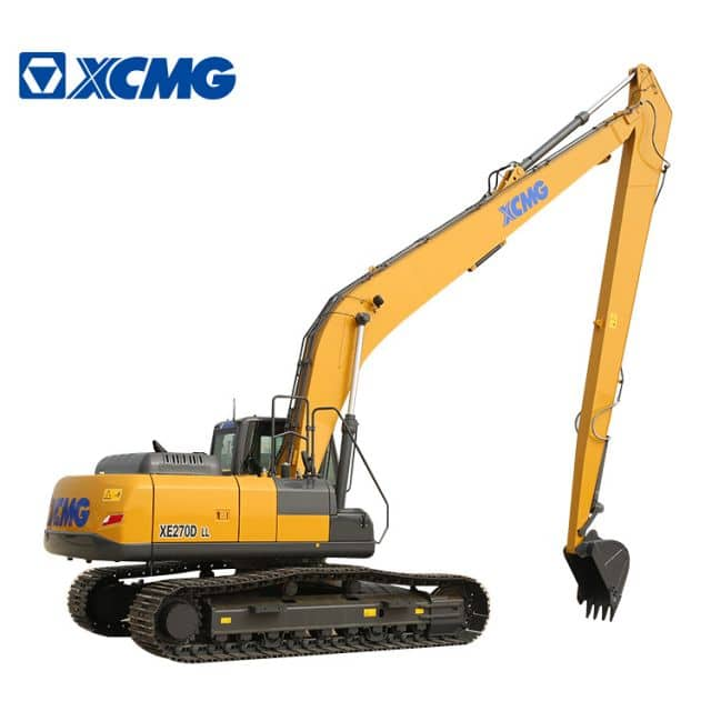 XCMG Excavator Long Arm XE270DLL 27 ton New Excavators for sale