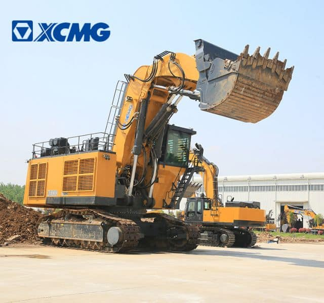 XCMG 300 Ton Excavator Machinery XE3000 China Big Heavy Coal Mining Excavation with 15m3 Bucket