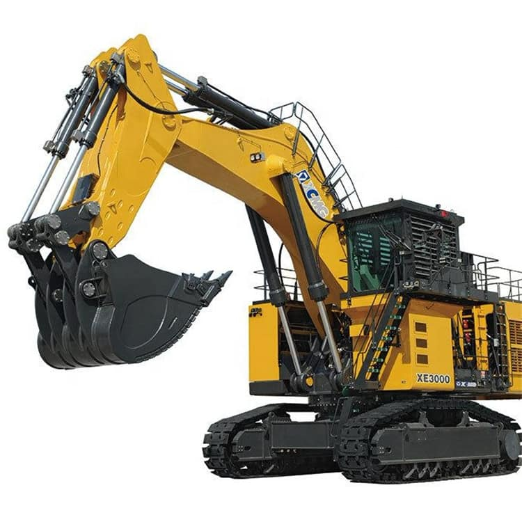XCMG 300 Ton Excavator Machinery XE3000 China Big Heavy Coal Mining Excavation with 15m3 Bucket