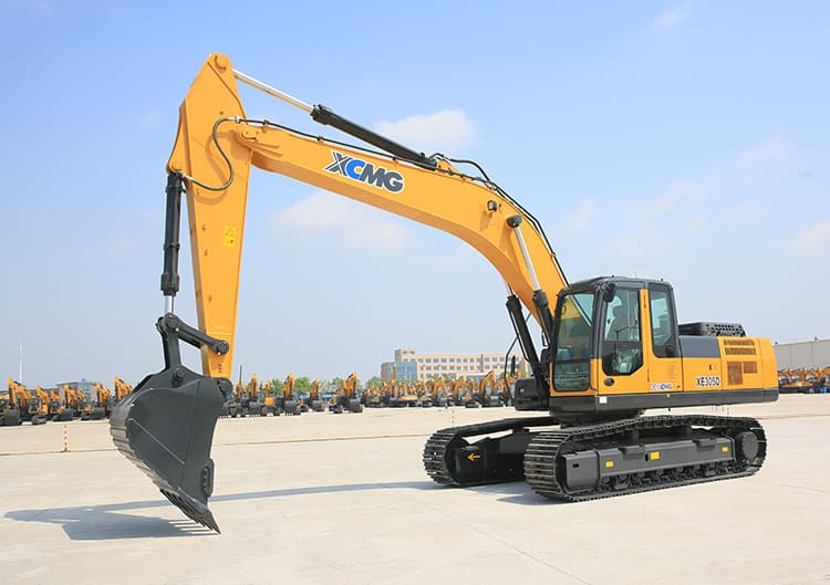XCMG Manufacture XE305D 30 Ton Excavators Chinese Hydraulic Pump Excavator With Attachments