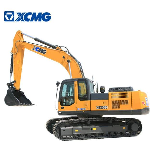 XCMG Excavator Machine 30 Ton Mining Excavator XE305D With Hydraulic Hammer For Sale