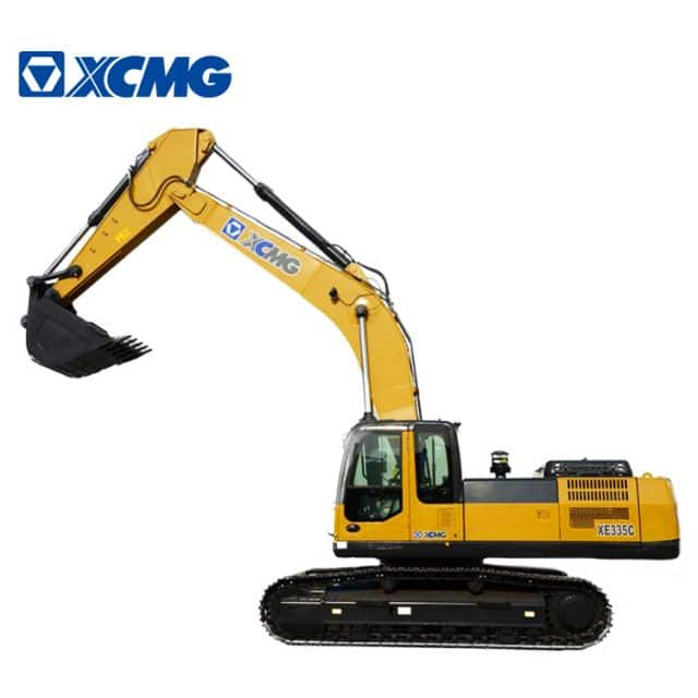 XCMG 33.5ton crawler excavator XE335C china top brand new hydraulic mining excavator machine price