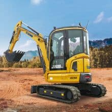 XCMG Official 3.5ton Hydraulic Excavator XE35E (Euro Stage V) for sale
