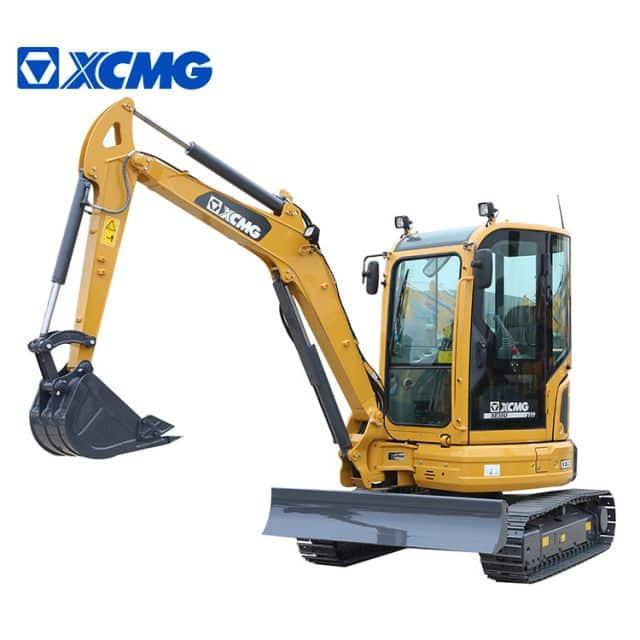 XCMG new 3 ton small crawler excavator with dozer XE35U price