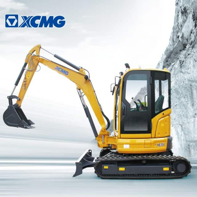 XCMG 3.5ton mini excavator XE35U china brand new hydraulic crawler excavator machine price for sale