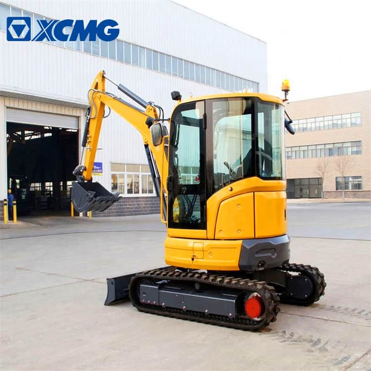 XCMG official 3.5 tons mini bagger excavator XE35E for European market