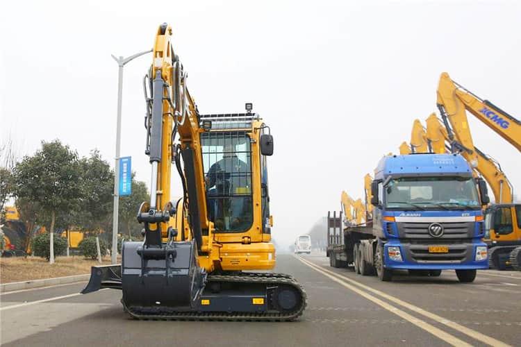 XCMG official 3.5 tons mini bagger excavator XE35E for European market