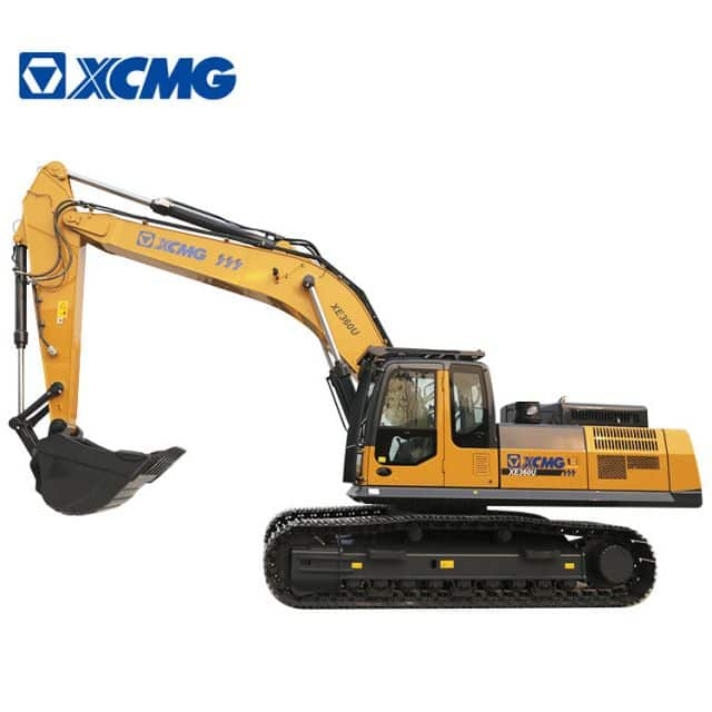 XCMG 35 Ton Mining Excavator Crawler XE360U Meets North America EPA Tier 4F Emissions For sale