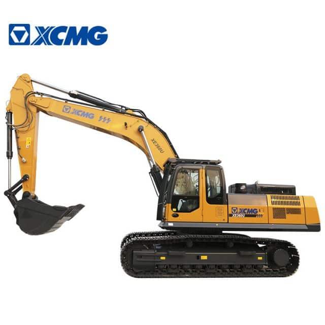 XCMG 35 Ton Mining Excavator Crawler XE360U Meets North America EPA Tier 4F Emissions For sale